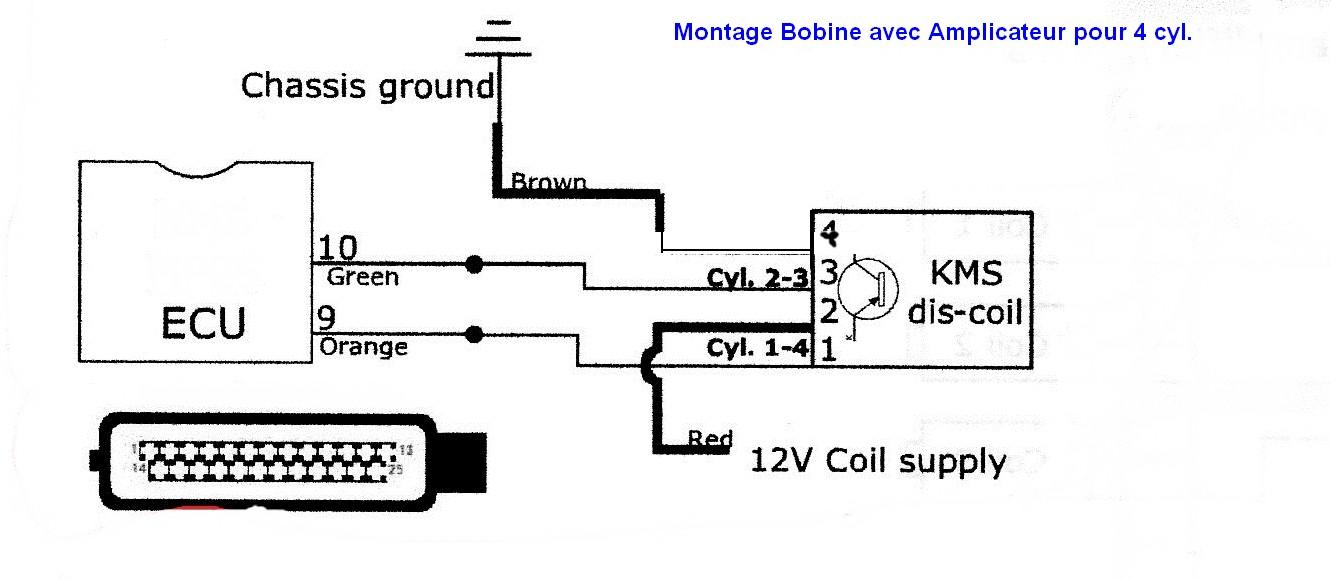 bobine d u0026 39 allumage avec amplificateur pour vag