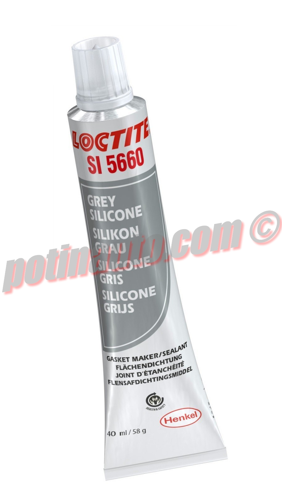 joint d 39 tanch it loctite si5660 silicone gris 40ml r f 1124089. Black Bedroom Furniture Sets. Home Design Ideas